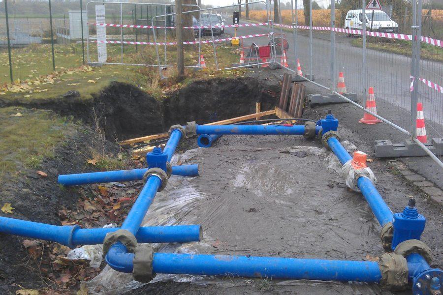Maîtrise d'oeuvre – Réseau d'eau potable – Hénin-Carvin (CAHC)