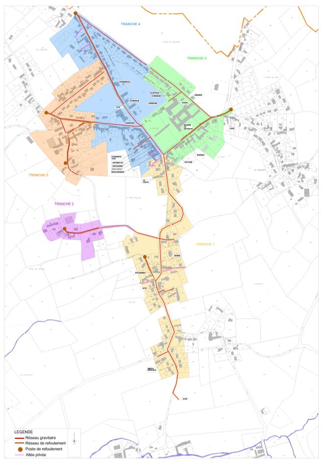 AMO – Création du système d'assainissement des eaux usées – Hardinghen (Hardinghen)