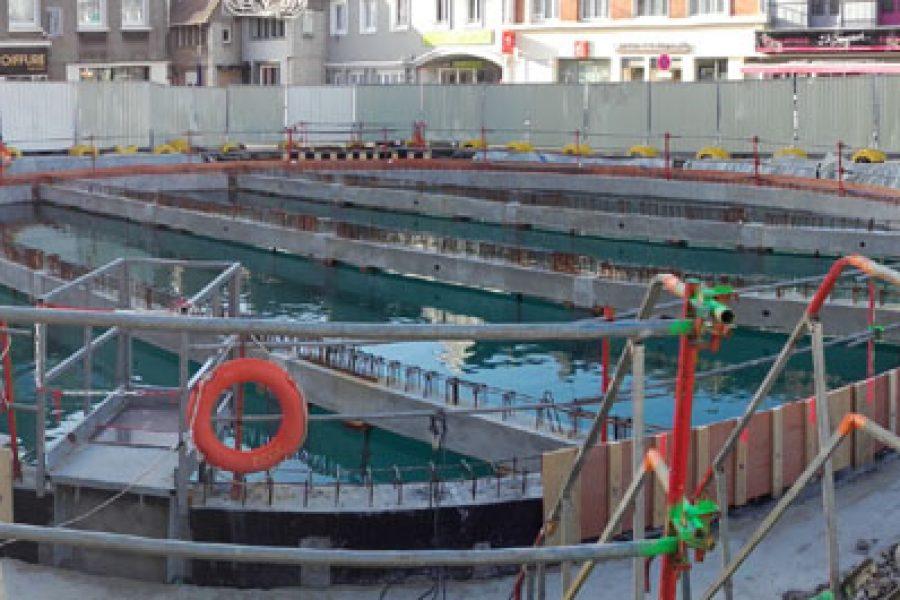 Maîtrise d'œuvre – Bassin de stockage-restitution – Le Portel (Le Portel)