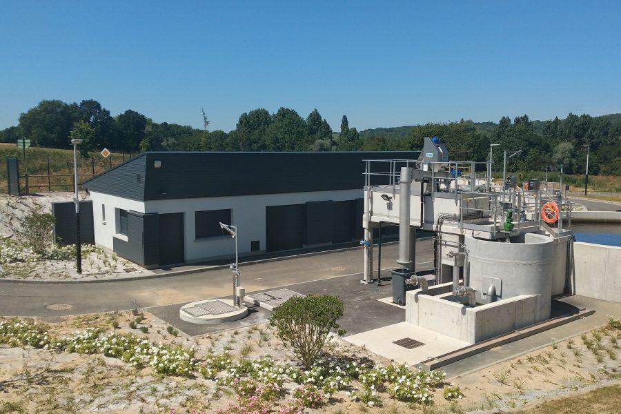Maîtrise d'oeuvre – Station d'épuration – Rebreuve-Ranchicourt (CABBALR)