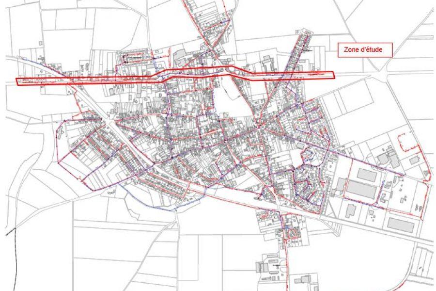 Maîtrise d'oeuvre – Réseau d'assainissement – Villers Bretonneux (CCVS)