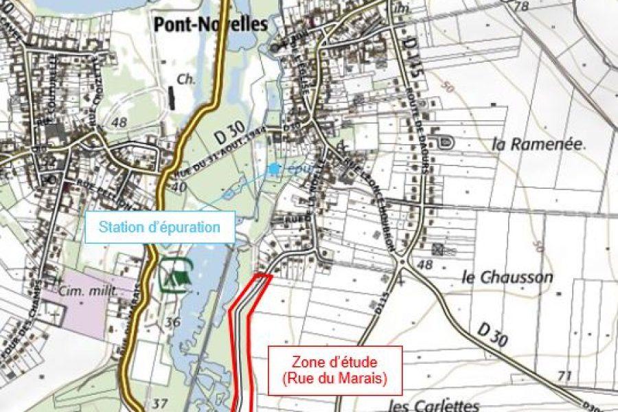 Maîtrise d'oeuvre – Réseau d'assainissement – Pont-Noyelles BC4 (CCVS)